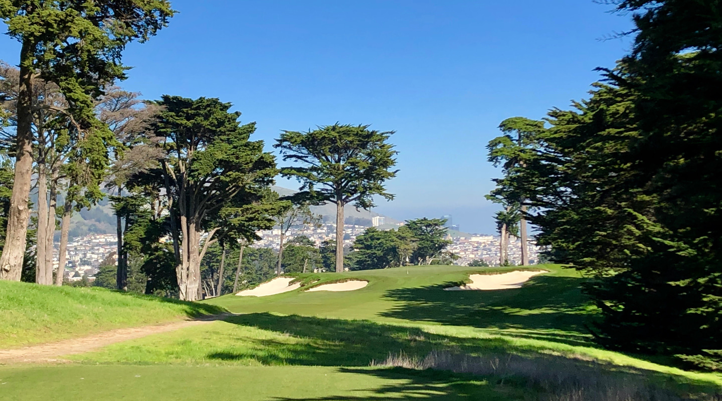 A beautiful setting for one of Cal's toughest holes