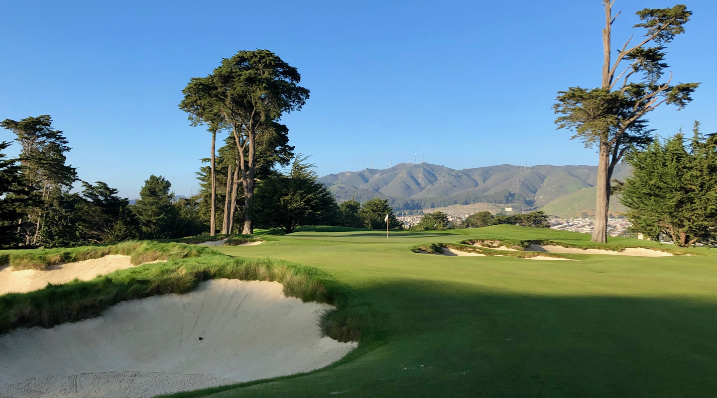Beautiful bunkering intimidates and confuses the eye - Photo Credit: Jon Cavalier