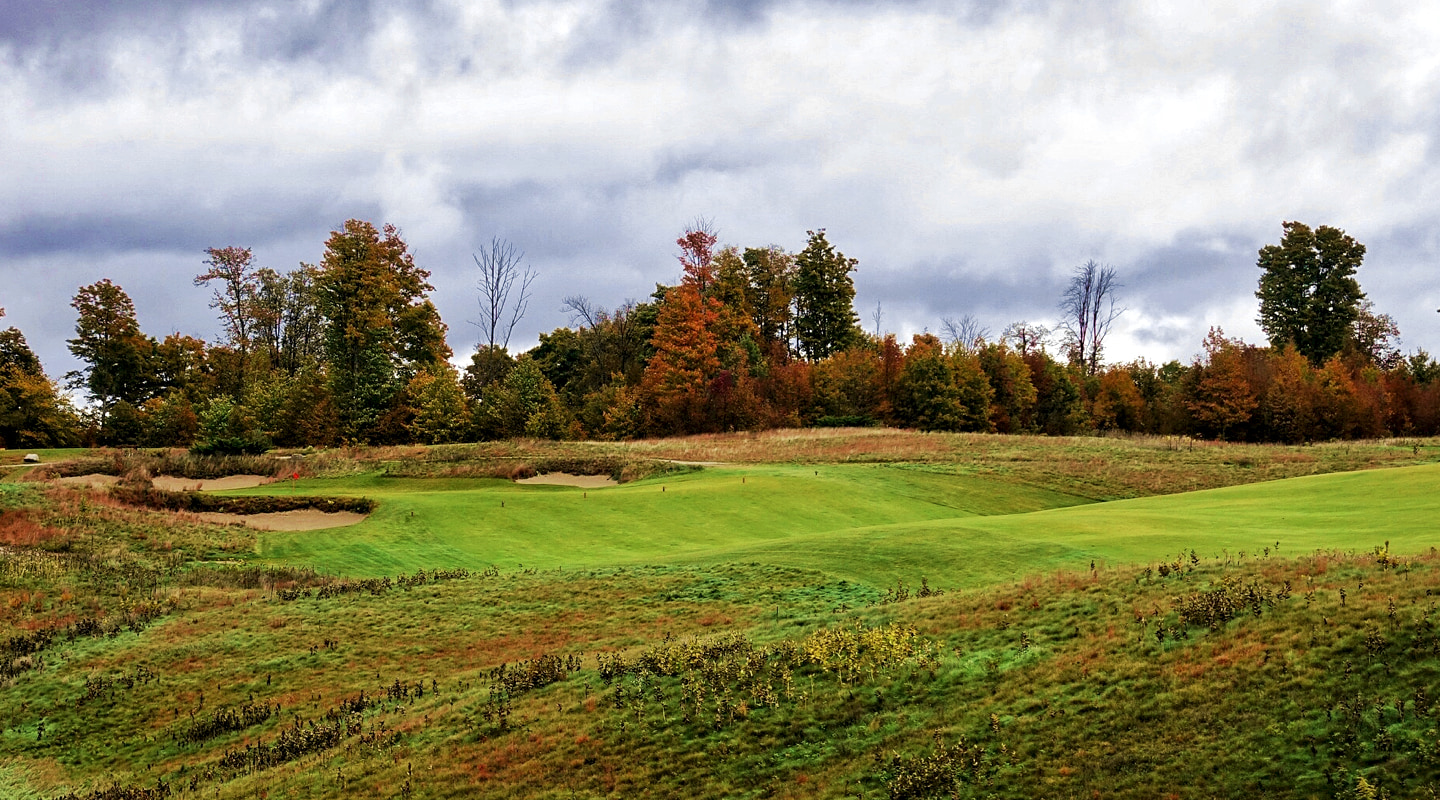A valley short of the green can be reached in the right wind - Photo credit: Jon Cavalier