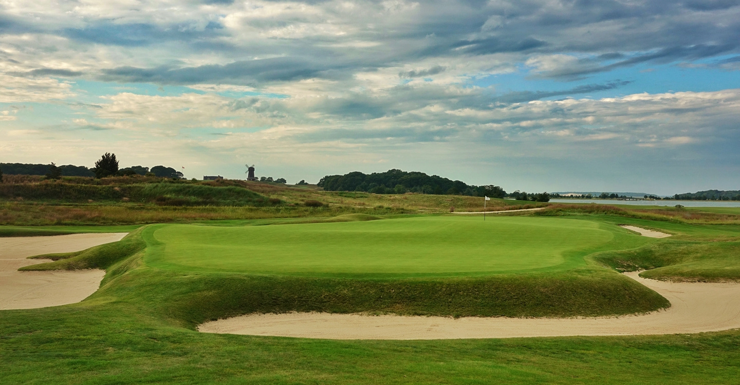 Strong contours await players who find the green
