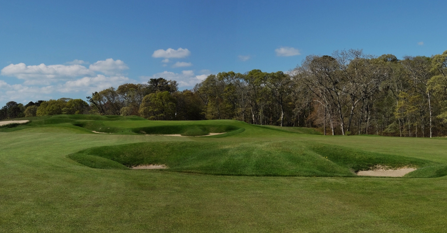 The first of the National's two Principal's Nose bunkers