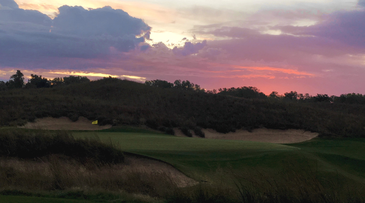 From sunrise to sunset, Prairie Dunes is a stunner