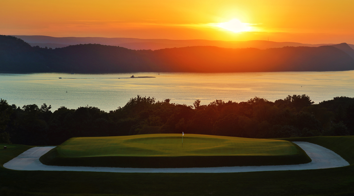 A return to the 16th at sunset is a must for visitors to Sleepy Hollow