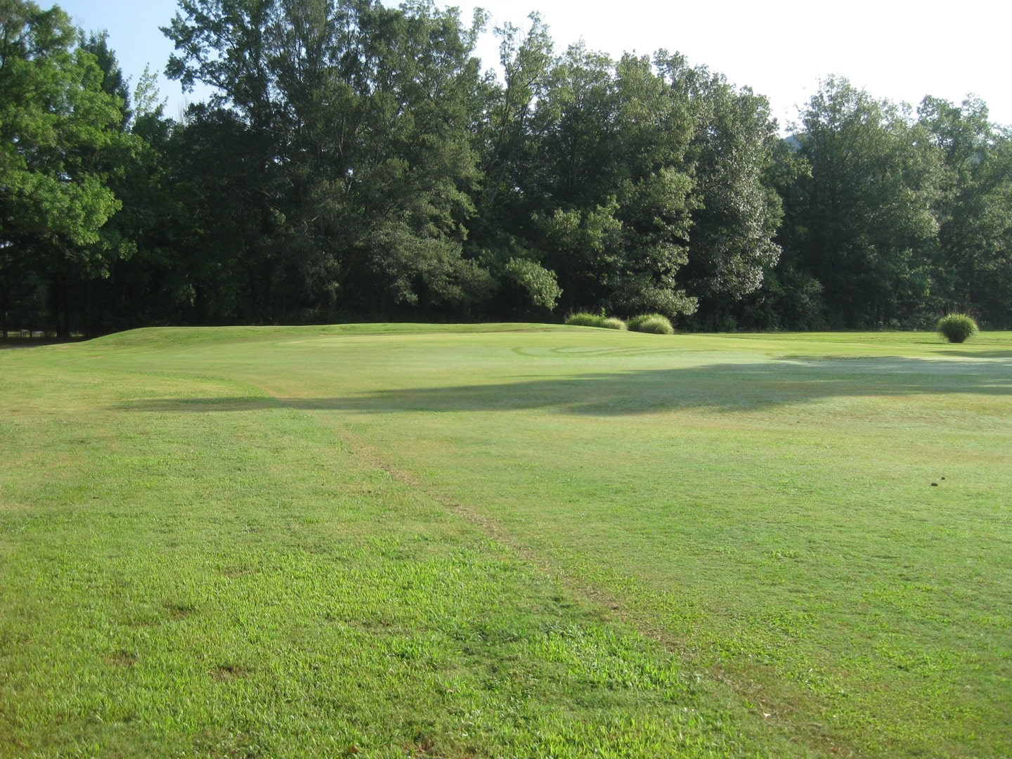 The 2nd hole before construction