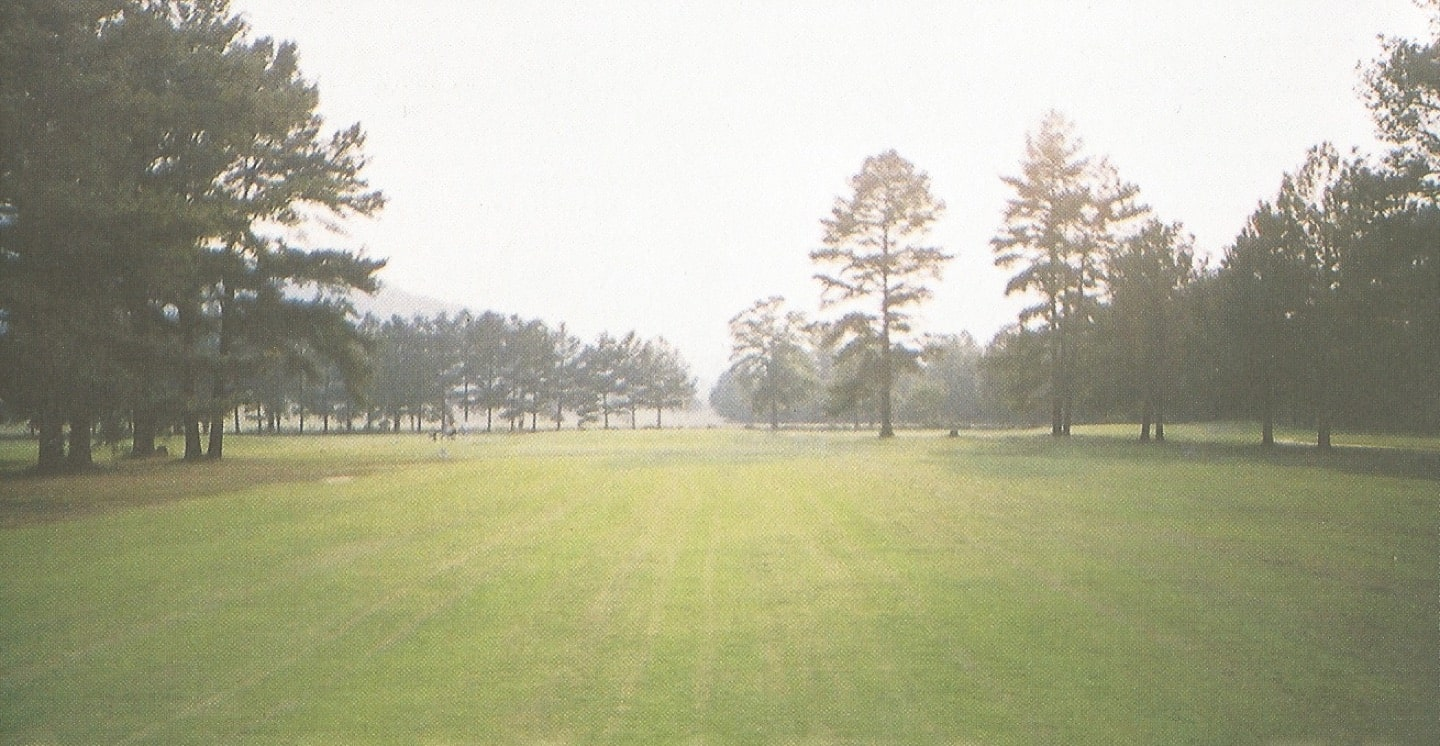 The 5th hole before construction